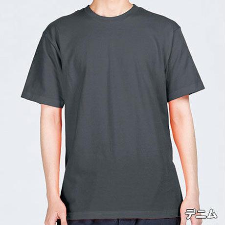 「雷の鶏」 おかしなせかい オリジナル Tシャツ デニム