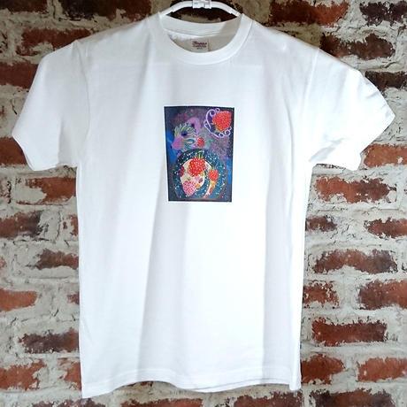 「ホシゾラノウタ」 おかしなせかい オリジナル Tシャツ ホワイト