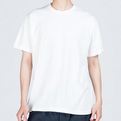 「くろさびネコT」ねこバヤシ みゃ オリジナルTシャツ / ホワイト