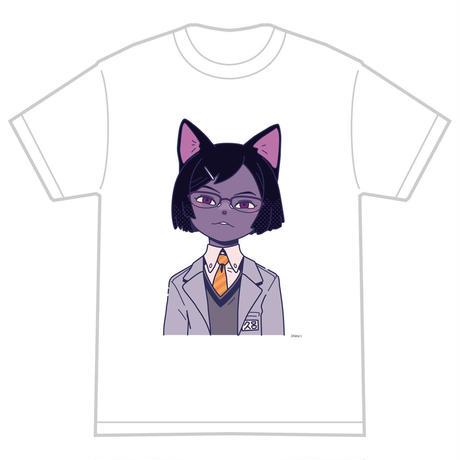 「クロ」 サナダシン オリジナル Tシャツ ホワイト