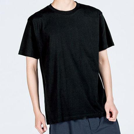 「くろさびネコT」ねこバヤシ みゃ オリジナルTシャツ / ブラック