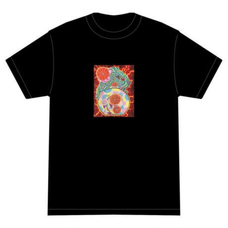 「タイヨウノウタ」 おかしなせかい オリジナル Tシャツ ブラック
