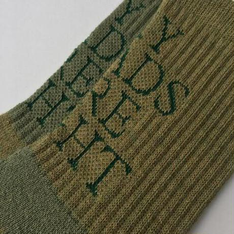 TEXT : Moss Green (merino wool)