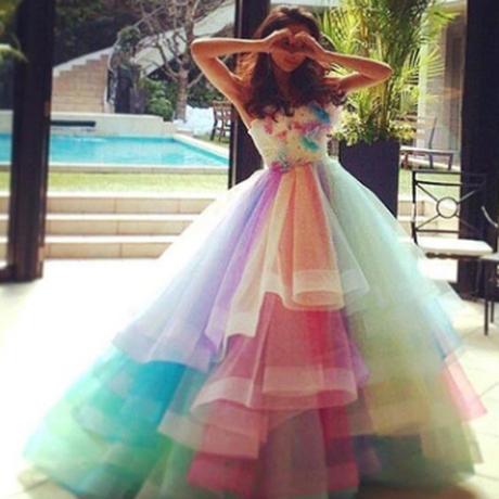 レインボー*カラードレス