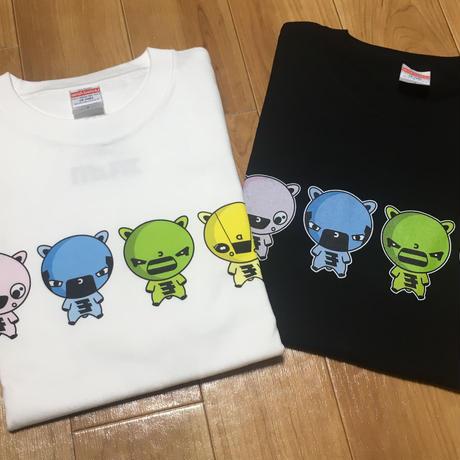 モリもっこり Tシャツ 白 先行発売