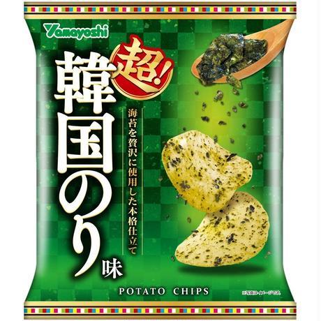 ポテトチップス 超!韓国のり味 60g(1ケース:12袋入)