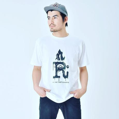 EYES LOGO Tee black