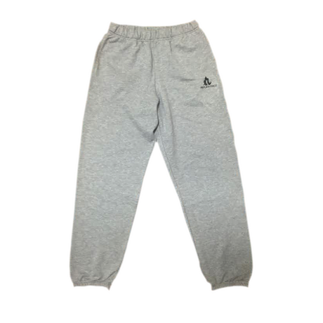 LOGO sweat pants gray