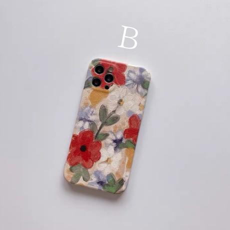 Art Flower ♡スマホケース【 E0064】