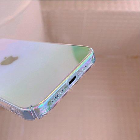 Clear aurora iPhone case【C0094】