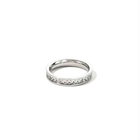 Bright line ring 【R0037】