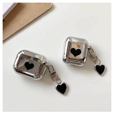 Heart mirror  Airpodsケース♡【P0025】