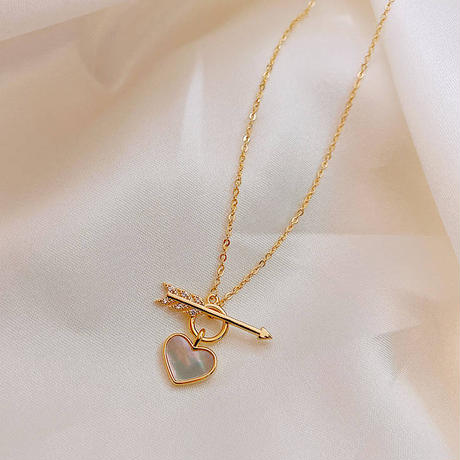 heart necklace【R0030】