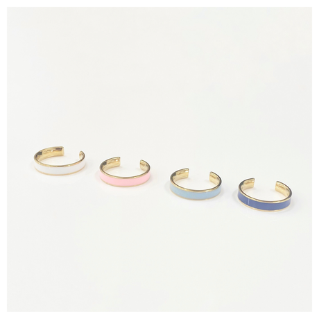 Simple color ring 【 R0077】