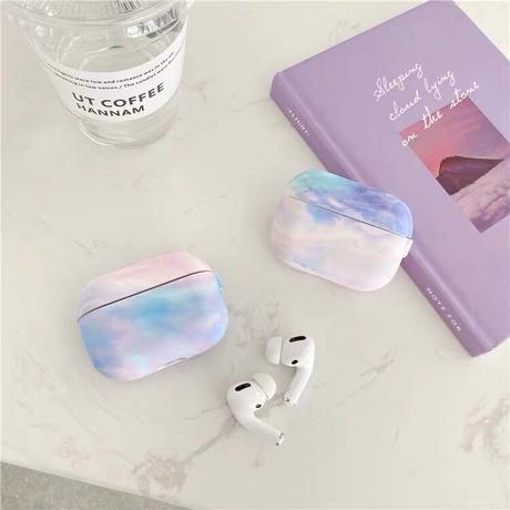 Pastel art Airpods case【P0020】