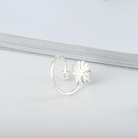 Silver daisy ring 【R0048】