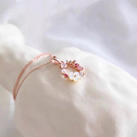 Flower tiara necklace【R0039】