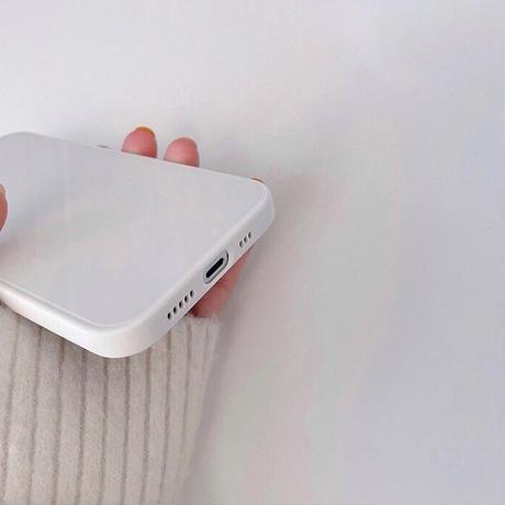Simple white case 【E0025】