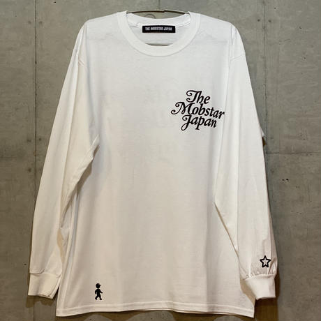 Walking long sleeve Tee white