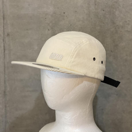 Corduroy Jet Cap White