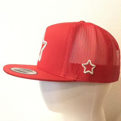 mobstar mesh cap red