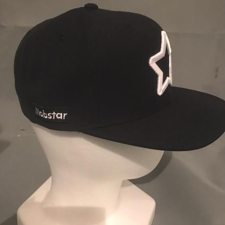 2017 Mobstar cap Whitestar Black