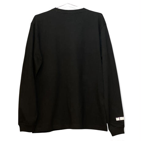 Big Logo Long-sleeve T-shirt Black
