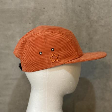 Corduroy Jet Cap Orange