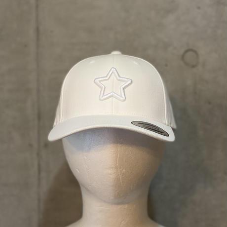 ALL WHITE COVER VISOR CAP