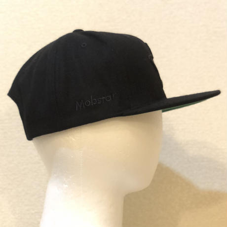 ALL BLACK WOOL CAP