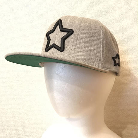 Mobstar cap Blackstar HeatherGrey