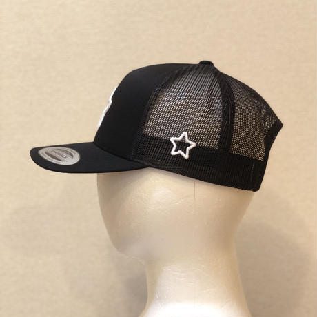 【受注生産】mobstar black mesh cap