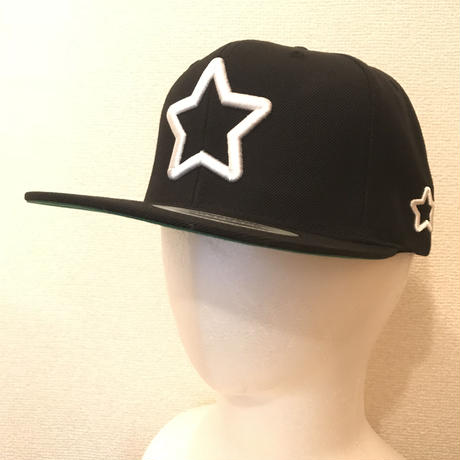 Mobstar cap Whitestar black
