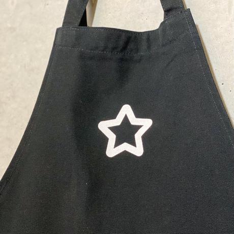 STARエプロン Black