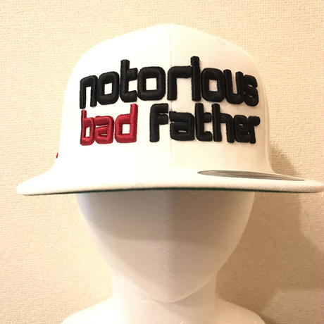 bad father snapback white