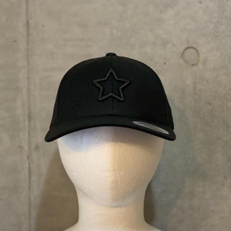 ALL BLACK COVER VISOR CAP
