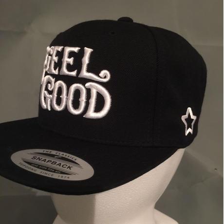 mobstar cap ブラック ホワイトFEELGOOD