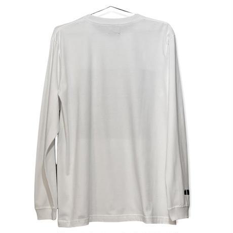 Big Logo Long-sleeve T-shirt White