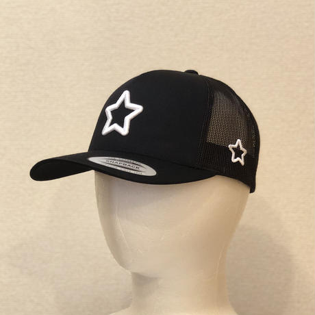 mobstar black mesh cap