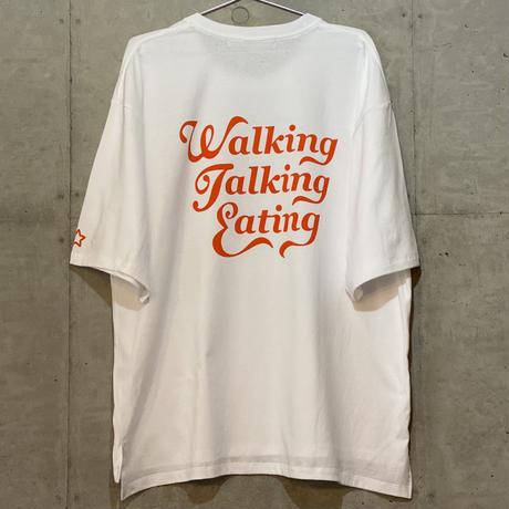 Walking T-shirt Orange