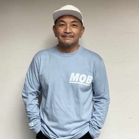 MOB ロンT ブルー