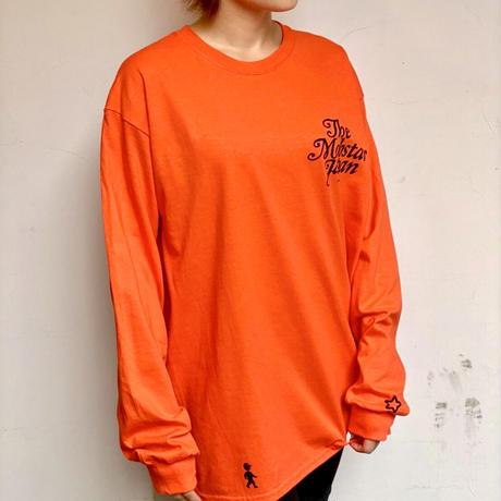 Walking long sleeve Tee orange