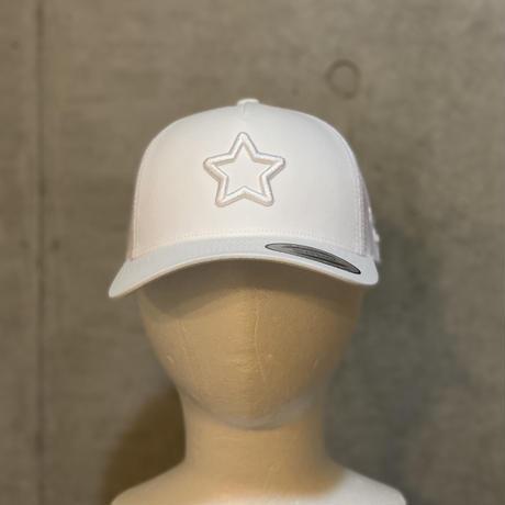 ALL WHITE mesh cap