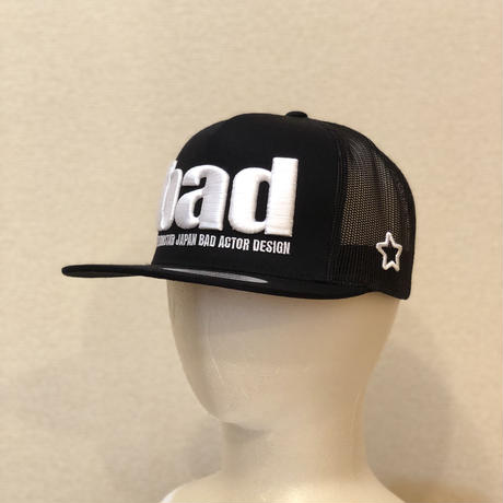 bad mesh cap black