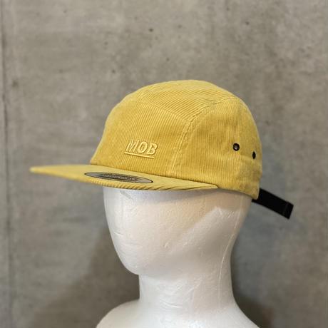 Corduroy Jet Cap Yellow