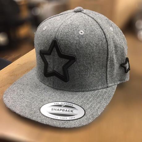 mobstar wool cap grey
