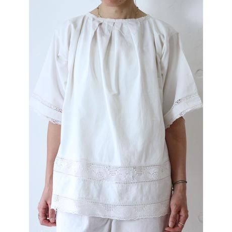 Antique Cotton lace blouse