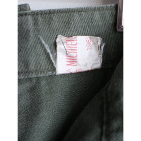 "80's ""Belgium Military"" Combat Trousers [No.0227]"