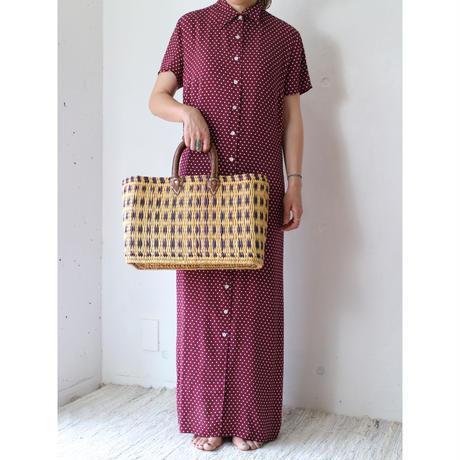 Old Handmade Rattan bag