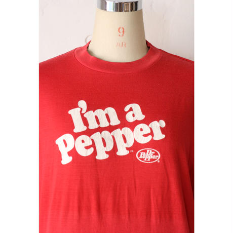 "80's T-shirt ""Dr.pepper"" [667C]"